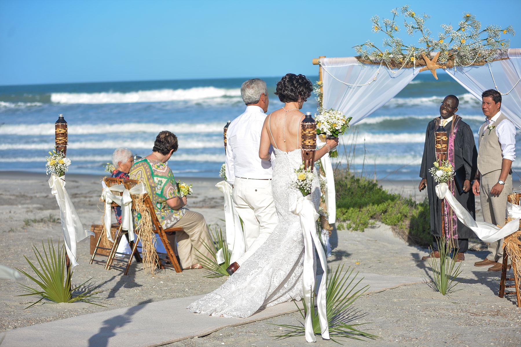Marcelo And Pinas Cocoa Beach Wedding